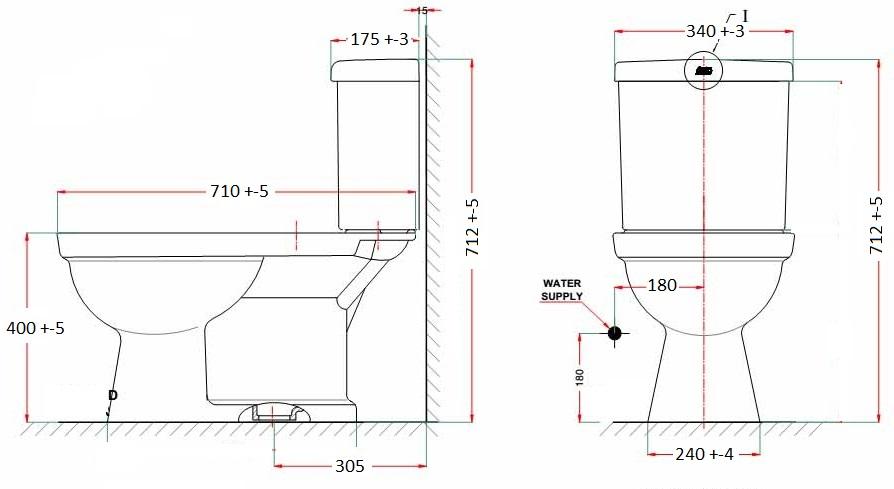 Bản vẽ bồn cầu VF 2024S3
