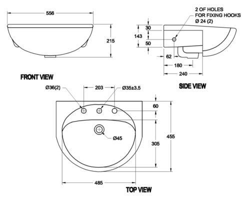 Bản-vẽ-kỹ-thuật-chậu-âm-bàn-american-standard-0518-WT