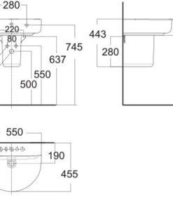 bản-vẽ-kỹ-thuật-american-standard-0553-WT-0740-wt