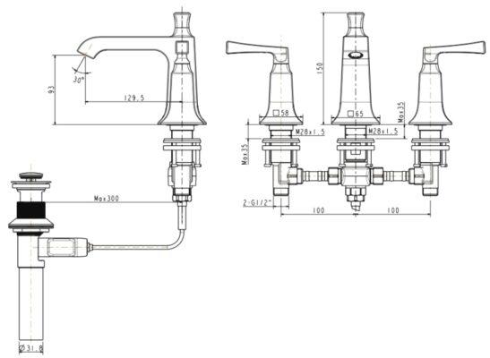 wf-1603-bản-vẽ-kỹ-thuật-vòi-chậu-rửa-mặt-american-standard
