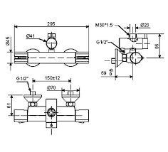 WF-4948 bản vẽ vòi trộn nhiệt độ cho sen cây phun mưa american standardWF-4948 bản vẽ vòi trộn nhiệt độ cho sen cây phun mưa american standard