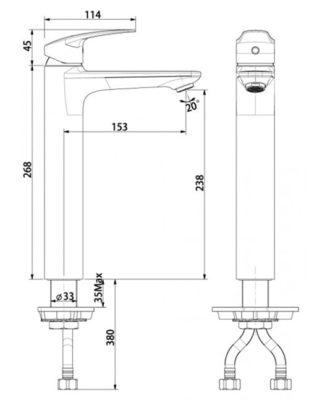 wf-0703-bản-vẽ-kỹ-thuật-vòi-chậu-cổ-cao-american-standard