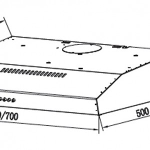 Máy Hút Mùi Eurosun EH-70CF19S