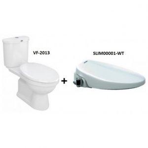 Bồn Cầu American Standard VF-2013S Dòng Star Nắp Rửa Cơ