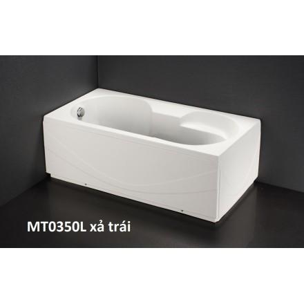 Bồn Tắm Massage Chân Yếm 1.5M CAESAR MT0350L/R