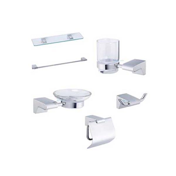 Bộ phụ kiện phòng tắm Caesar Q880 6 món cao cấp