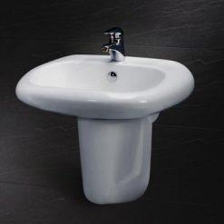 Chân chậu lavabo dài Caesar P2441