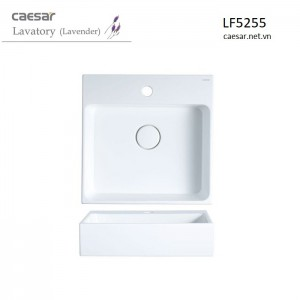 Chậu Lavabo Caesar LF5255 Đặt Bàn
