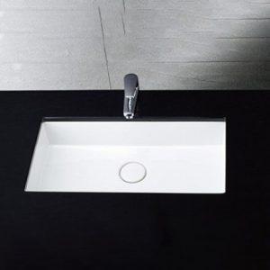 Chậu Rửa Lavabo Âm Bàn CAESAR LF5130 Chữ Nhật