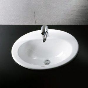 Chậu Rửa Lavabo CAESAR L5018 Dương Vành