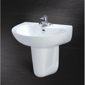 Chậu Rửa Lavabo Kèm Chân Ngắn L2155 P2441