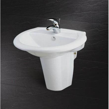 Chậu Rửa Lavabo Kèm Chân Ngắn L2360 P2439
