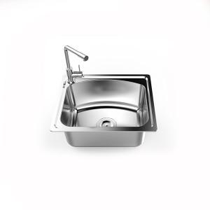 Chậu rửa bát Inox 304 Sơn Hà S50D/S50X - 1 Hố