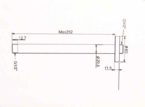Thanh Nối Đầu Sen American Standard FFAS9908 EasySET