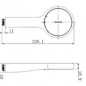 Tay Sen Tắm American Standard FFASS505
