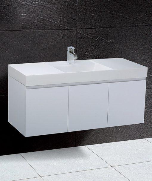 Tủ đặt chậu rửa mặt lavabo Caesar EH0120V treo tường
