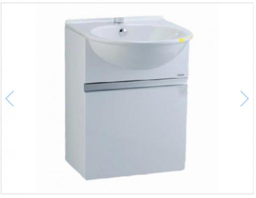 Tủ đặt chậu rửa mặt lavabo Caesar EH050V treo tường