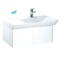 Tủ đặt chậu rửa mặt lavabo Caesar EH063RV treo tường