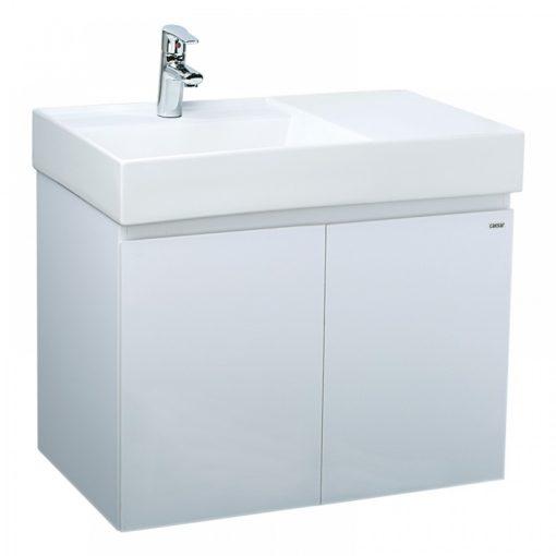Tủ đặt chậu rửa mặt lavabo Caesar EH080V treo tường