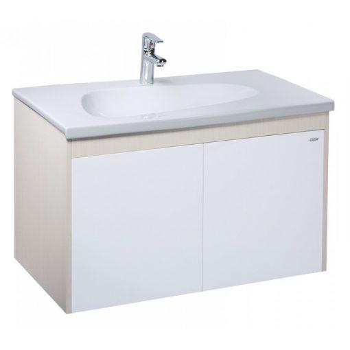 Tủ đặt chậu rửa mặt lavabo Caesar EH090V treo tường