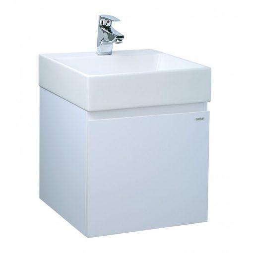 Tủ đặt chậu rửa mặt lavabo Caesar EH154V/TG/WG treo tường