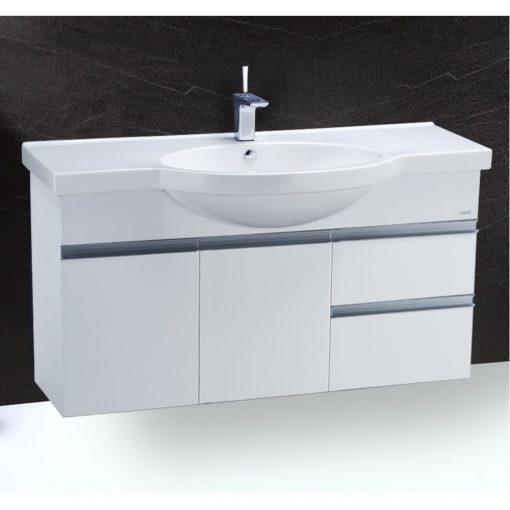 Tủ đặt chậu rửa mặt lavabo Caesar EH213V treo tường