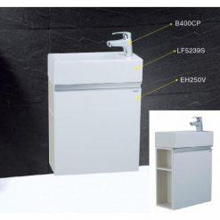 Tủ đặt chậu rửa mặt lavabo Caesar EH250V treo tường