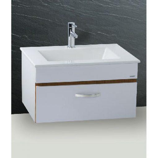Tủ đặt chậu rửa mặt lavabo Caesar EH665V treo tường