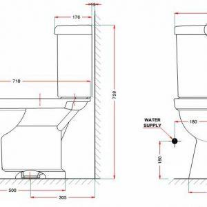 Bồn Cầu American Standard VF-2013S3 Dòng Star Nắp Rửa Cơ