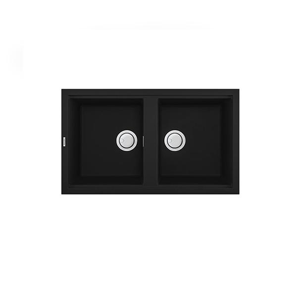 RL-900 BLACK Chậu Rửa Bát Roslerer Đá Granite Màu Đen