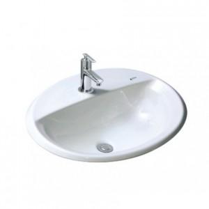 Chậu Rửa Lavabo Âm Bàn Inax L-2395V ( VEC/VFC ) Dương Vành