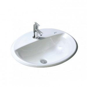 Chậu Rửa Lavabo Âm Bàn Inax AL-2395V ( VEC/VFC ) Dương Vành
