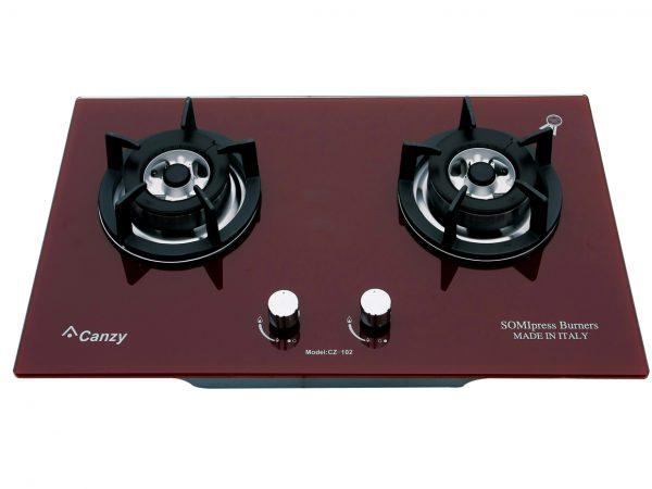 Bếp gas âm Canzy CZ-102 (Đỏ)
