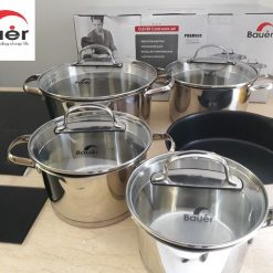BỘ NỒI CHẢO BAUER CLEVER